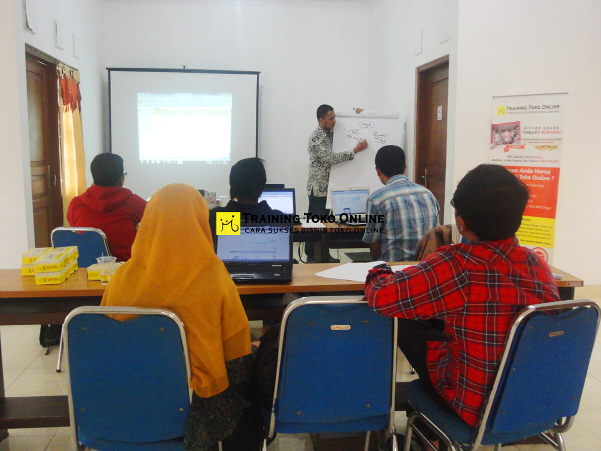 Pelatihan bisnis toko online
