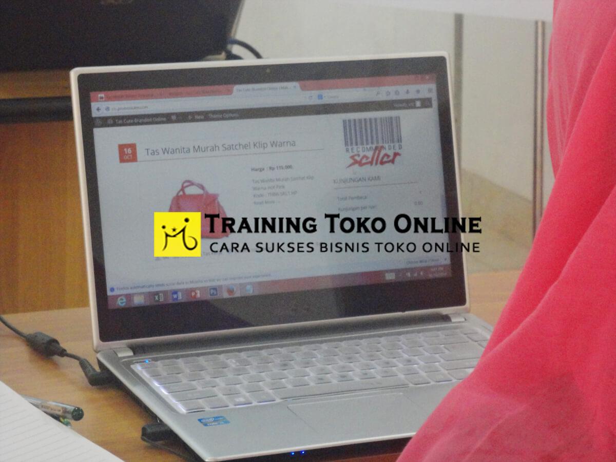 Praktek membuat website toko online
