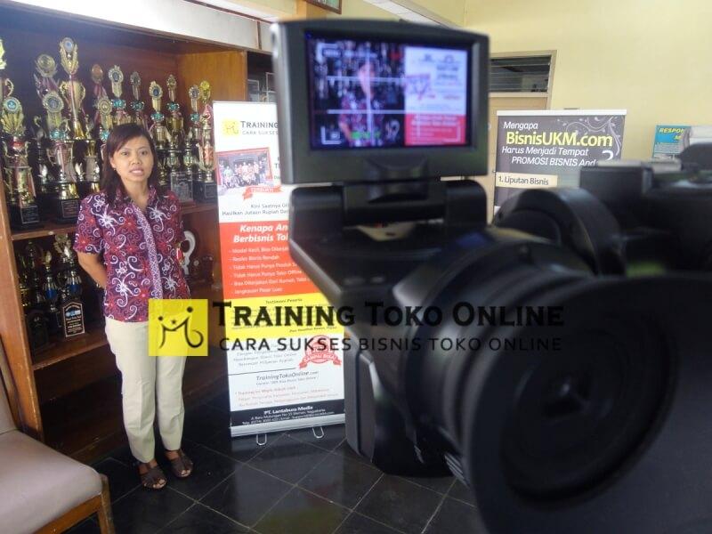 Testimoni in house training toko online