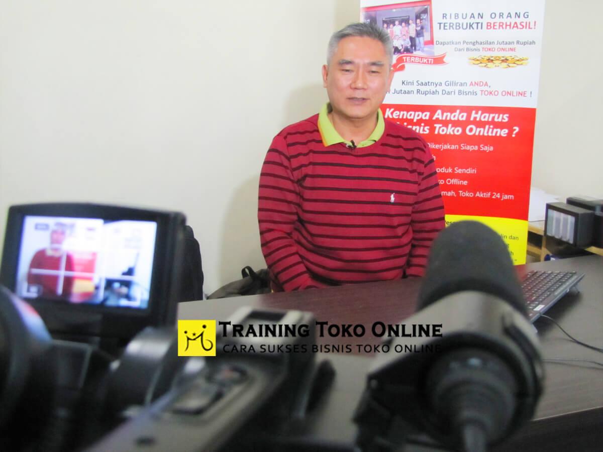 Testimoni peserta training toko online angkatan ke-5