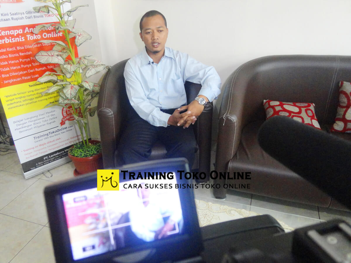 Testimoni peserta training toko online
