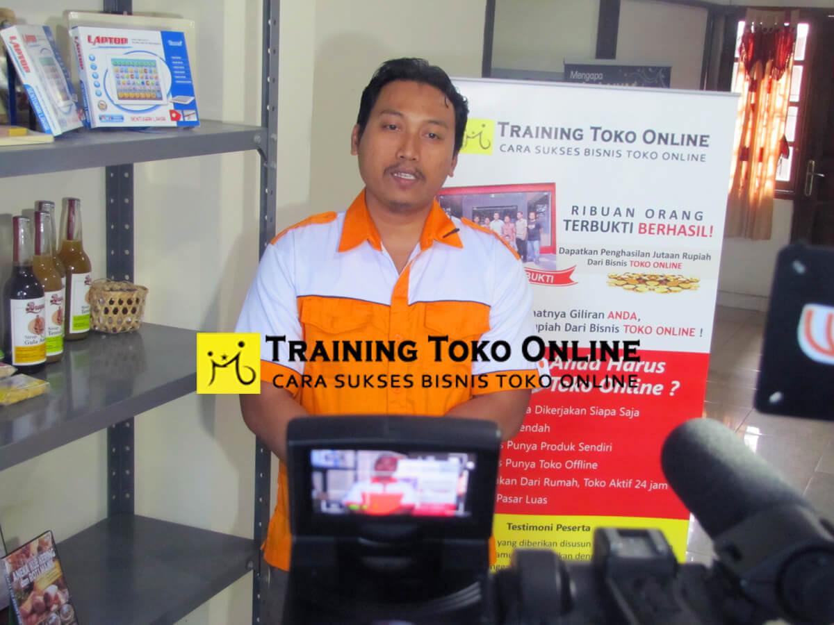 Testimoni peserta training
