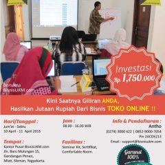 Training toko online