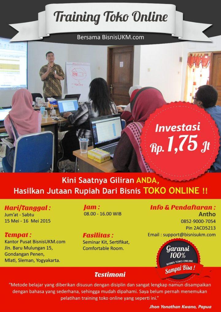Training toko online angkatan ke-10