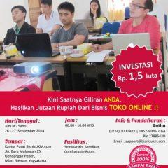 Training toko online September 2014